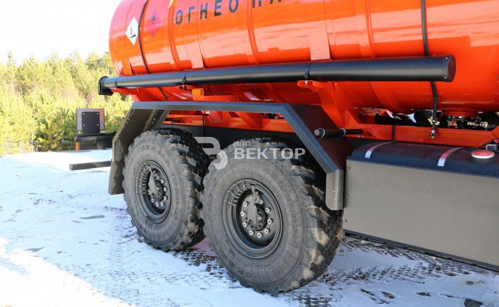 АЦМ-11 КАМАЗ-43118 Cummins
