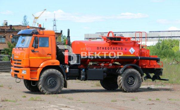 АТЗ-6 КАМАЗ-43502 (с маслостанцией)
