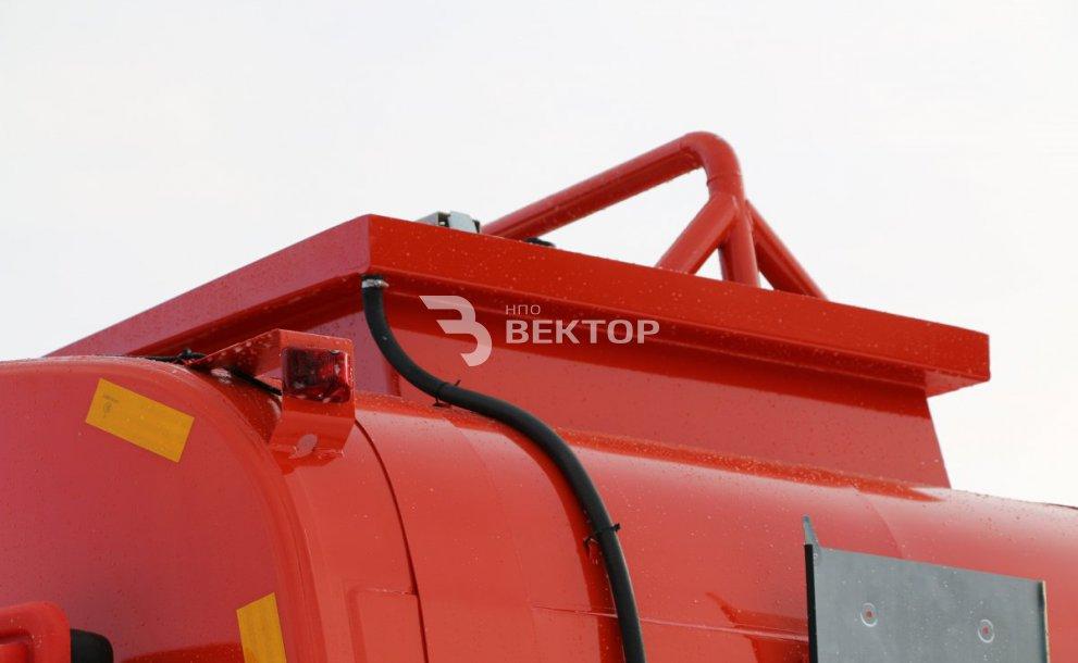 АЦМ-11 КАМАЗ-43118 Cummins (чемодан)