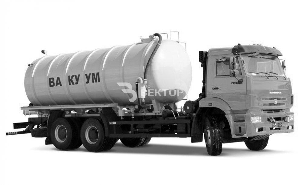 МВ-18 КАМАЗ-6520 (сдвоенный насос)