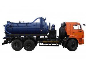 Илососные машины АКНС-10 КАМАЗ-43118 фото