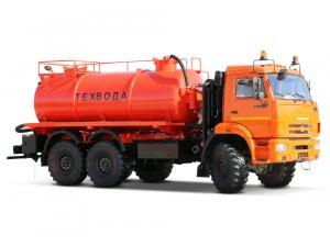 Вакуумная машина МВ-10 КАМАЗ-43118 с ВК6М2 фото