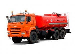 Автоцистерна нефтепромысловая АЦН-15 КАМАЗ-43118 фото