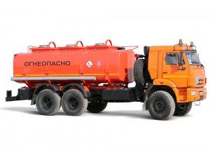 Автоцистерна для светлых ГСМ (бензовоз) АЦ-16 КАМАЗ-65111М фото
