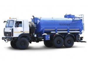 Автоцистерна нефтепромысловая АЦН-20 МАЗ-6317X5 фото