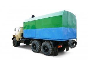 Передвижная паровая промысловая установка ППУА 1600/100М Урал-4320 фото