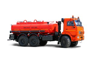 Автоцистерна нефтепромысловая АЦМ-10М КАМАЗ-43118-МЕТАНОЛ фото