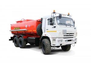 Автоцистерна нефтепромысловая АЦМ-16М КАМАЗ-65111-МЕТАНОЛ фото