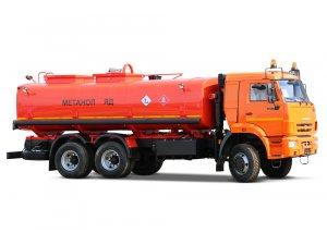 Автоцистерна нефтепромысловая АЦМ-16 КАМАЗ-65111-МЕТАНОЛ фото