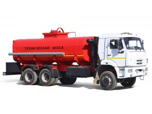 Gasoline tankers for light oil products AC-16 KAMAZ-65111 фото