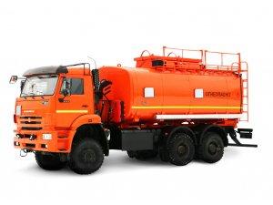 Автоцистерна для светлых ГСМ (бензовоз) АЦ-20 КАМАЗ-6522 фото