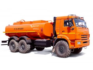 Gasoline tankers for light oil products AC-7,5 KAMAZ-5350 фото