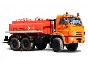 Автоцистерна нефтепромысловая АЦН-7,5 КАМАЗ-5350 фото