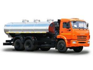 Автоцистерна для пищевых жидкостей АЦПТ-15 на шасси КАМАЗ-65115 фото