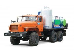 Агрегат депарафинизации скважин АДПМ-12-150 Урал-4320 фото