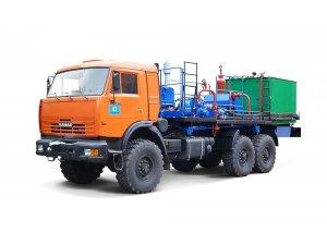 Агрегат депарафинизации скважин АДПМ-12-150 КАМАЗ-43118 фото