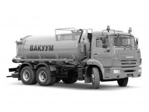 Вакуумная машина МВ-12ОД КАМАЗ-65115 фото
