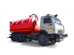 Vacuum tankers AKN-17,5 KAMAZ-6522 фото