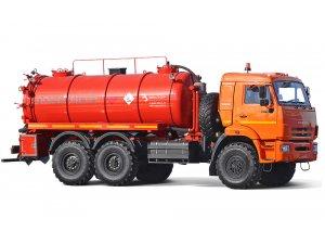 Vacuum tankers AKN-12 KAMAZ-43118 фото