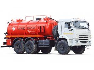 Vacuum tankers AKN-10 KAMAZ-43118 фото