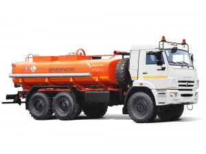 Gasoline tankers for light oil products AC-10 KAMAZ-43118 фото