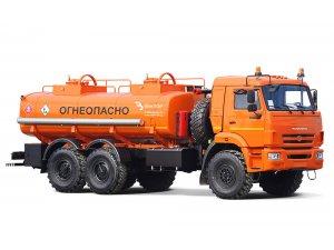 Автоцистерна для светлых ГСМ (бензовоз) АЦ-11,5 КАМАЗ-43118 фото