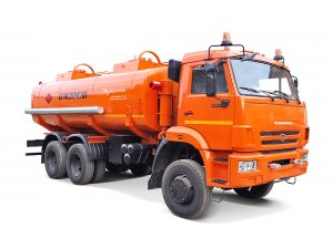 Gasoline tankers for light oil products AC-17 KAMAZ-65111 фото