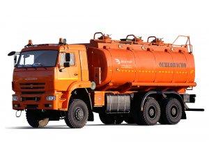 Автотопливозаправщик АТЗ-22 КАМАЗ-6522 фото