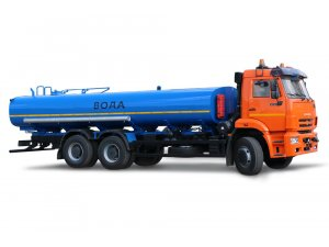 Автоцистерна для пищевых жидкостей АЦПТ-16 на шасси КАМАЗ-6520-КАРЬЕРНЫЙ фото