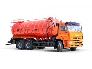 Vacuum tankers AKN-20 KAMAZ-6520  фото