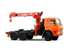 Седельный тягач КАМАЗ-43118 с КМУ Kanglim 1256GII фото