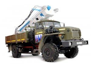 Бурильная установка МБШ-519 на шасси Урал-43206  фото