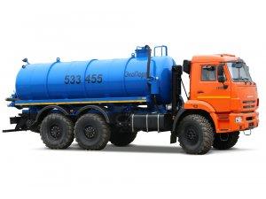 Вакуумная машина МВ-10 КАМАЗ-43118 (ЭКОНОМ) фото