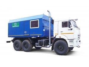 Mobile steam generating units PPUA-1600/100M on KAMAZ-43118 chassis (Pervomayskhimmash) фото