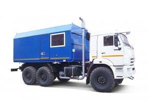 Передвижная паровая промысловая установка ППУА 1600/100М КАМАЗ-43118 фото