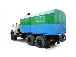 Mobile steam generating units PPUA-1600/100M on Ural-4320 chassis (Pervomayskhimmash) фото