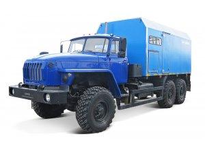 ППУА-1600/100 Урал-4320 Передвижная парогенераторная установка  фото