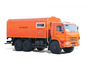 Mobile steam generating units PPUA-1600/100M on KAMAZ-43118 chassis  фото
