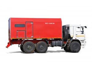 Mobile steam generating units PPUA-1600/100 on KAMAZ-43118 chassis (UNISTEAM - oilfield steam generators plant) фото
