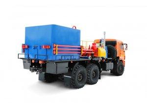 Цементировочный агрегат СИН-35 с водоподающим блоком на базе КАМАЗ-43118 фото