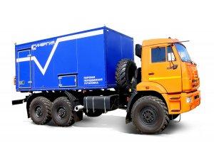 Передвижная парогенераторная установка ППУА 1600/100 КАМАЗ-43118 (Завод Синергия) фото
