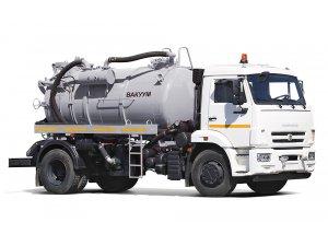 Cesspool trucks MV-8 KAMAZ-43253 фото