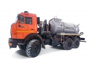 Cesspool trucks MV-7,5 KAMAZ-5350 фото