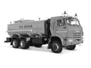 Автоцистерна нефтепромысловая АЦН-16 КАМАЗ-65111 фото