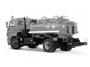 Автоцистерна для светлых ГСМ (бензовоз) АЦ-7,5 КАМАЗ-43253 фото