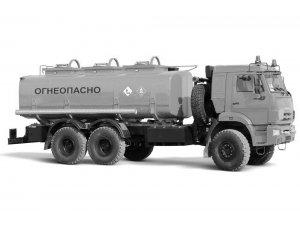 Автотопливозаправщик АТЗ-16 КАМАЗ-65111М (Односкатный) фото