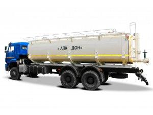 Автоцистерна нефтепромысловая АЦН-20 КАМАЗ-6522 с задним сливом фото