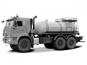 Кислотовоз АЦК-10 на базе КАМАЗ-43118 фото