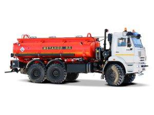 Автоцистерна нефтепромысловая АЦМ-12М КАМАЗ-43118 фото