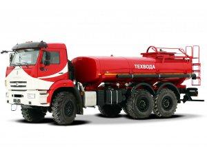 Автоцистерна нефтепромысловая АЦН-10 КАМАЗ-43118 фото